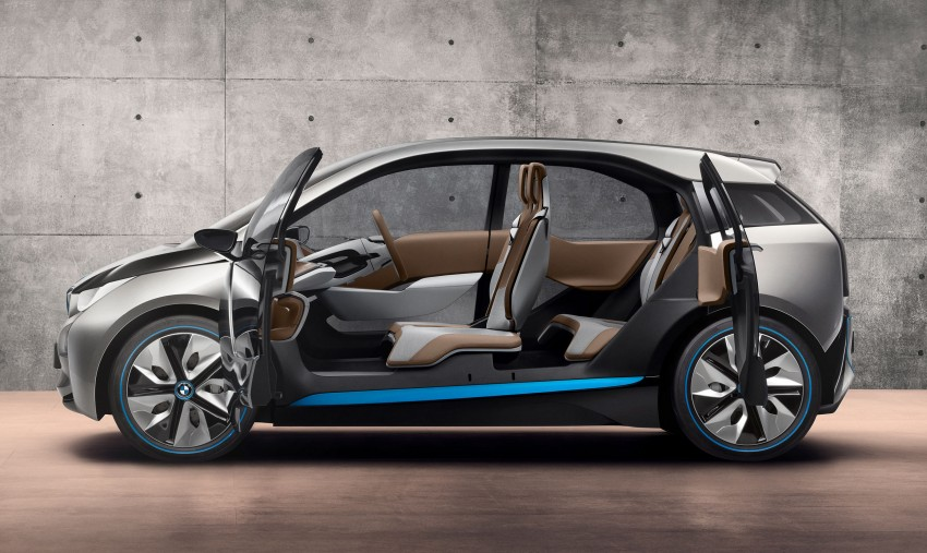 BMW i3 Concept update – chops trees for wood interior Image #113807