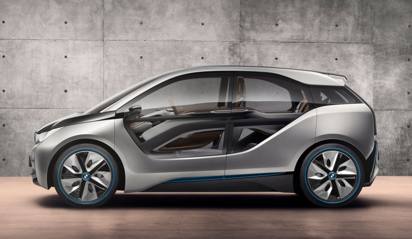 BMW i3 Concept update – chops trees for wood interior Image #113808