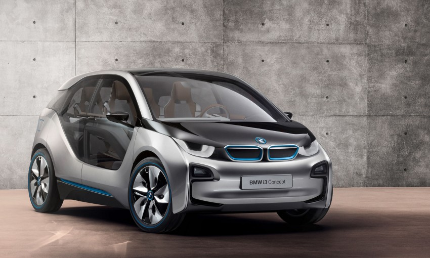 BMW i3 Concept update – chops trees for wood interior Image #113809