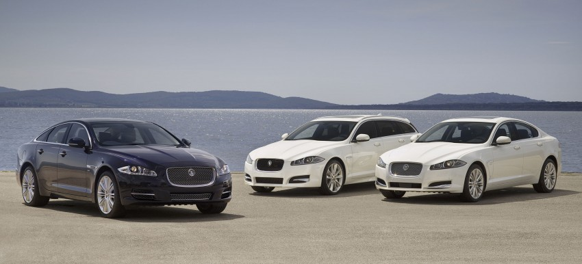 Jaguar XJ and XF gets new toys for MY2013 Image #116706