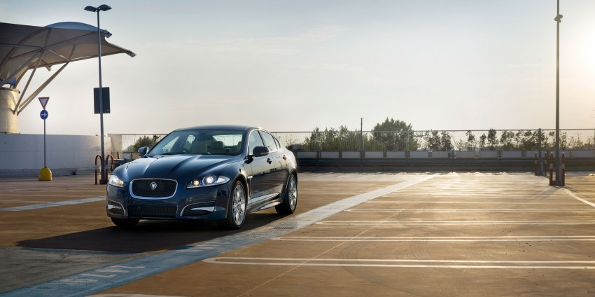 Jaguar XJ and XF gets new toys for MY2013 Image #116699