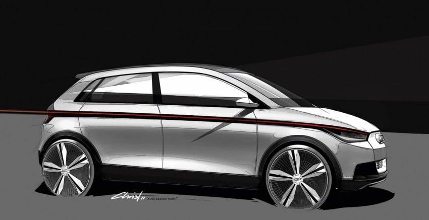 Audi A2 Concept – plenty of premium-standard space Image #66935