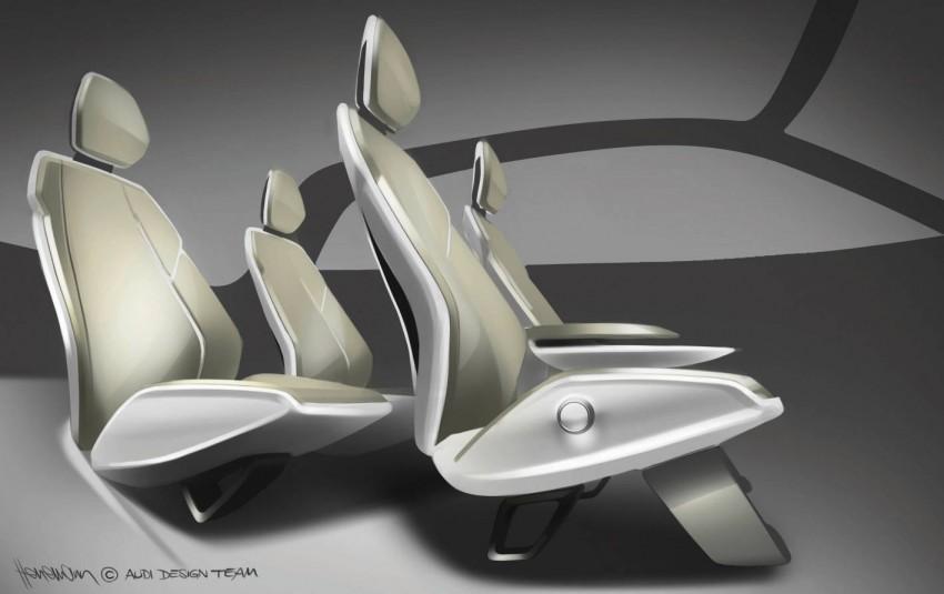 Audi A2 Concept – plenty of premium-standard space Image #66938