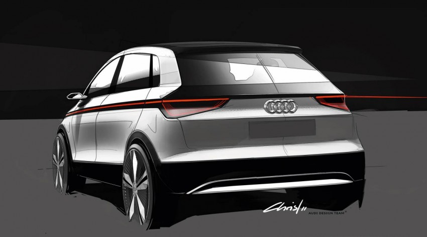 Audi A2 Concept – plenty of premium-standard space Image #66939