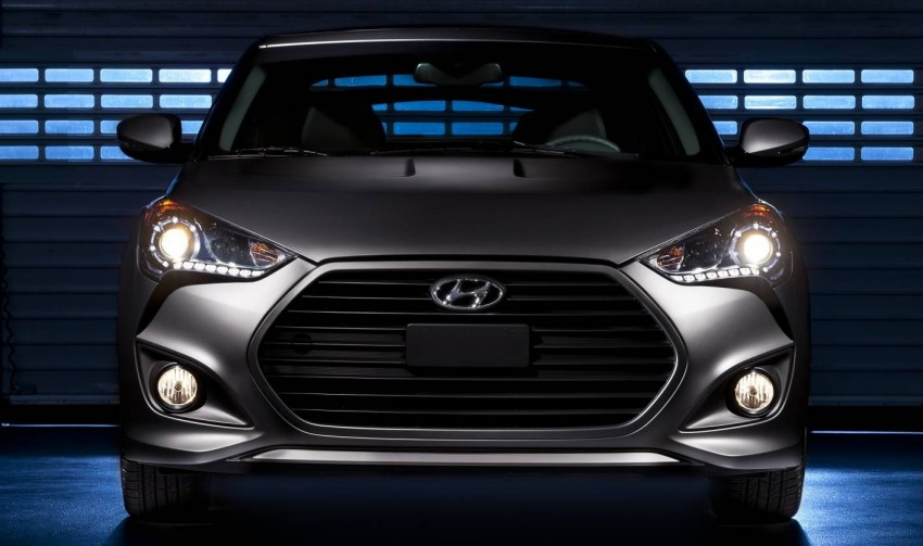Hyundai Veloster Turbo sports it up with 201hp and 264Nm Image #83350