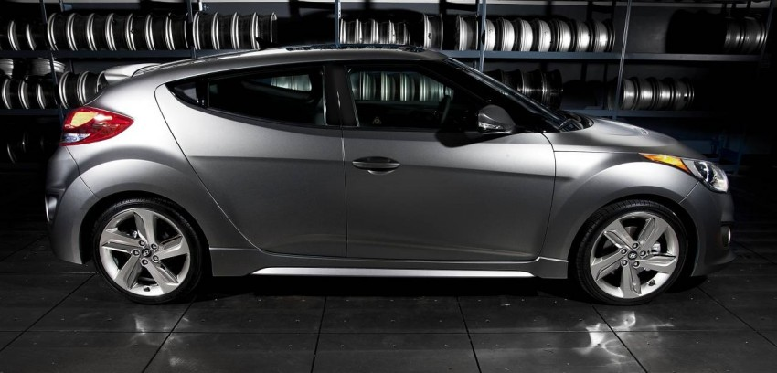 Hyundai Veloster Turbo sports it up with 201hp and 264Nm Image #83352