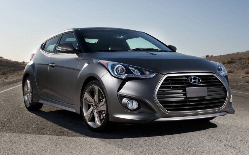 Hyundai Veloster Turbo sports it up with 201hp and 264Nm Image #83348