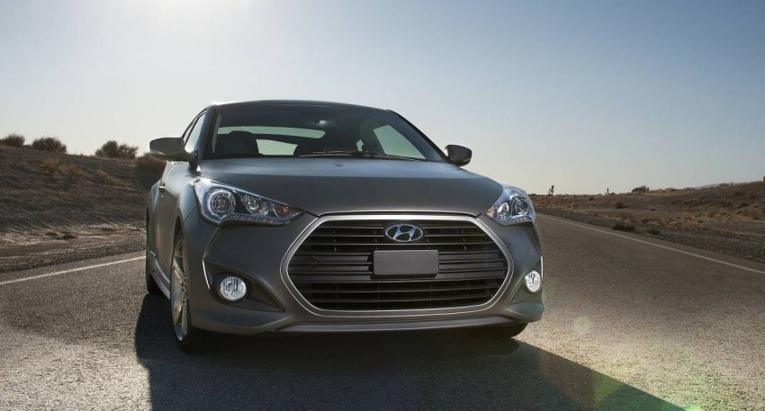 Hyundai Veloster Turbo sports it up with 201hp and 264Nm Image #83355