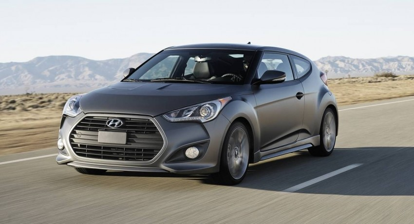 Hyundai Veloster Turbo sports it up with 201hp and 264Nm Image #83349