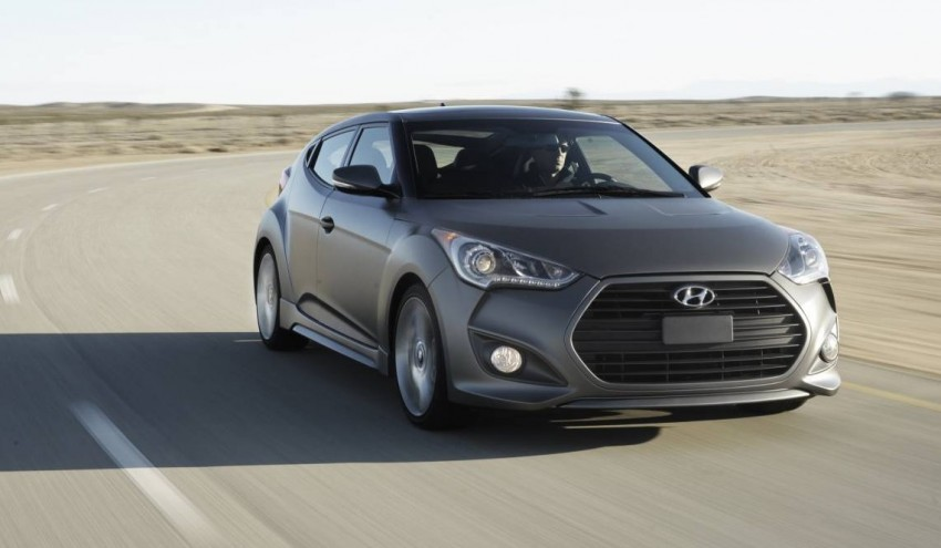 Hyundai Veloster Turbo sports it up with 201hp and 264Nm Image #83353