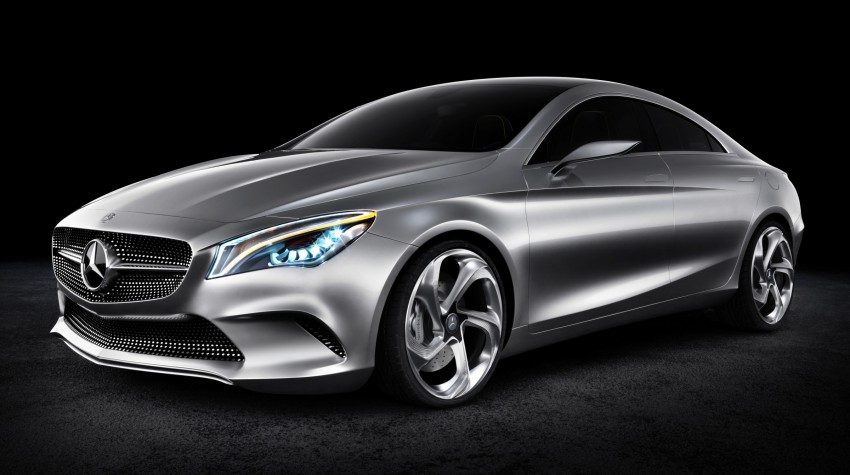 Mercedes-Benz Concept Style Coupé to debut in Beijing Image #101680