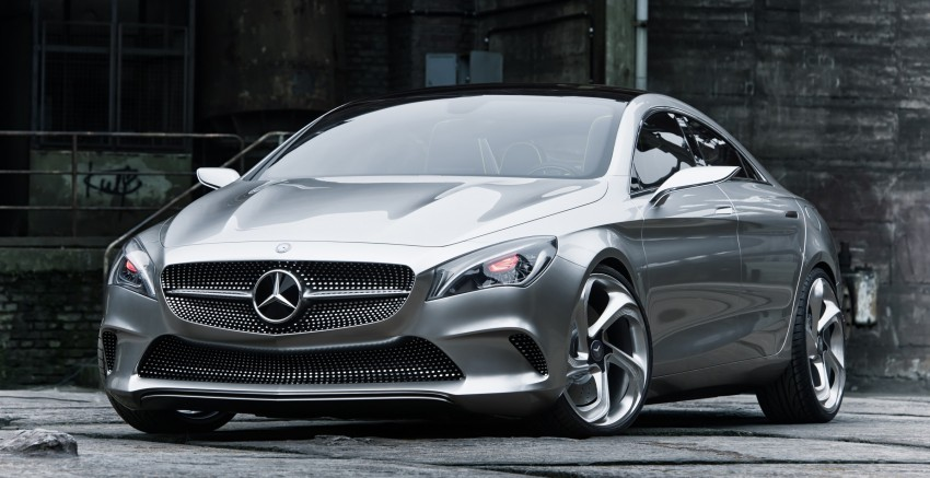 Mercedes-Benz Concept Style Coupé to debut in Beijing Image #101678
