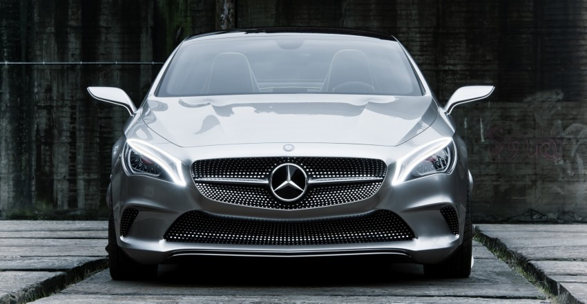 Mercedes-Benz Concept Style Coupé to debut in Beijing Image #101676