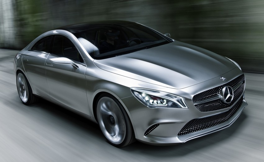 Mercedes-Benz Concept Style Coupé to debut in Beijing Image #101685