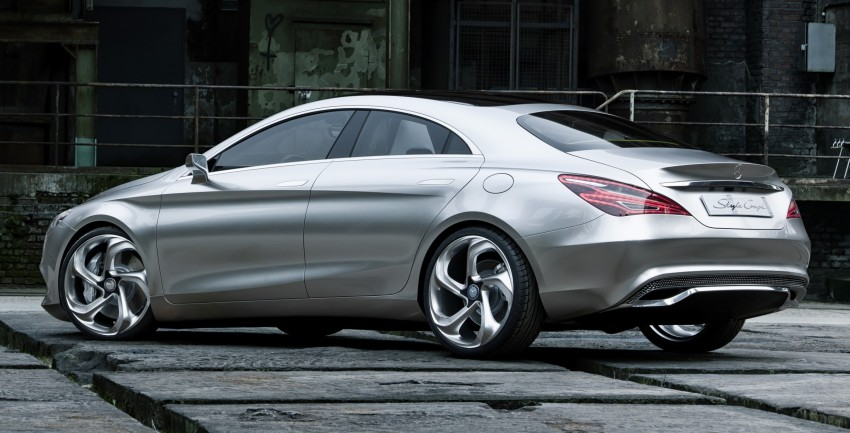 Mercedes-Benz Concept Style Coupé to debut in Beijing Image #101686