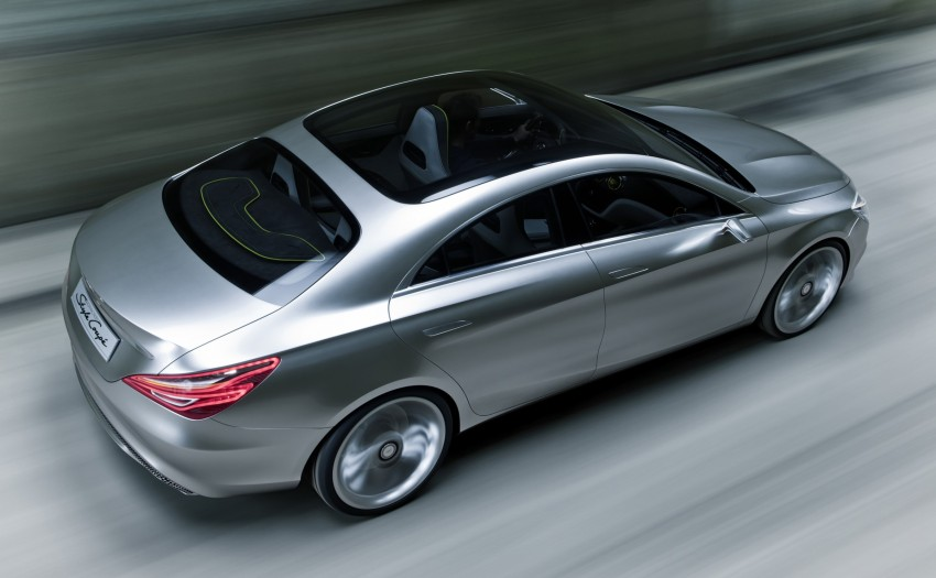 Mercedes-Benz Concept Style Coupé to debut in Beijing Image #101681