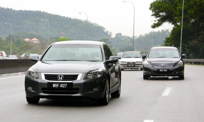 The Japanese D-segment trinity shootout: Honda Accord vs Nissan Teana vs Toyota Camry Image #153878