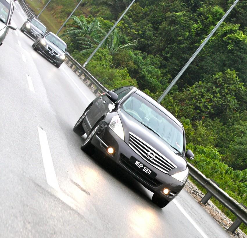 The Japanese D-segment trinity shootout: Honda Accord vs Nissan Teana vs Toyota Camry Image #153958
