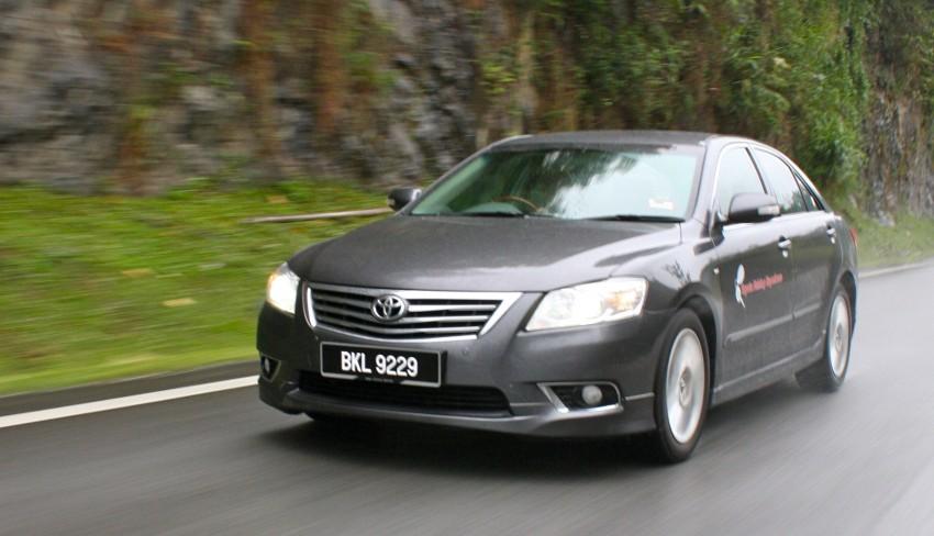 The Japanese D-segment trinity shootout: Honda Accord vs Nissan Teana vs Toyota Camry Image #154005