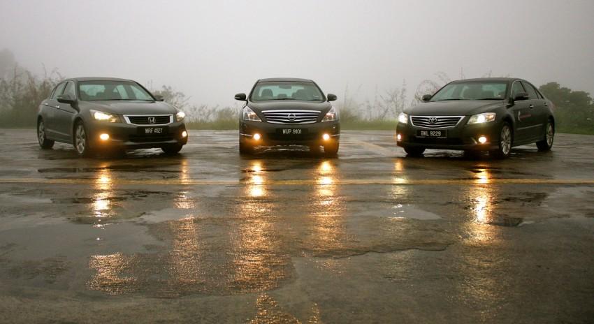The Japanese D-segment trinity shootout: Honda Accord vs Nissan Teana vs Toyota Camry Image #153862