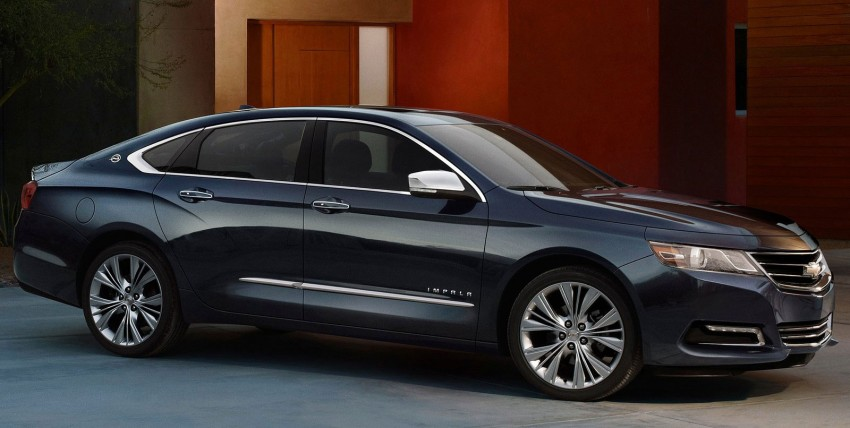 New Chevrolet Impala full-size sedan unveiled in New York Image #99813