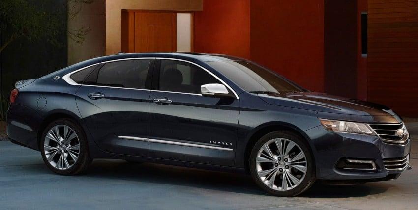 New Chevrolet Impala full-size sedan unveiled in New York Image #99813