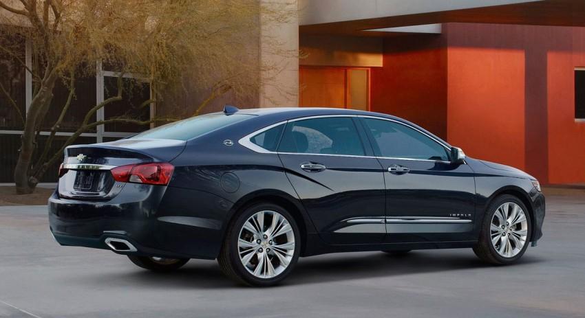 New Chevrolet Impala full-size sedan unveiled in New York Image #99815