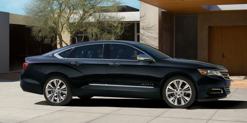 New Chevrolet Impala full-size sedan unveiled in New York Image #99817