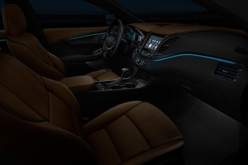 New Chevrolet Impala full-size sedan unveiled in New York Image #99818