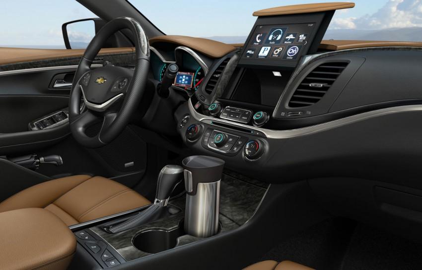 New Chevrolet Impala full-size sedan unveiled in New York Image #99820