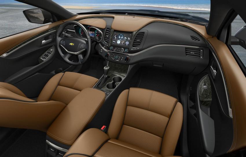New Chevrolet Impala full-size sedan unveiled in New York Image #99821