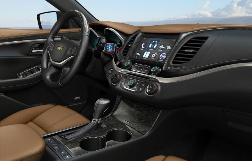 New Chevrolet Impala full-size sedan unveiled in New York Image #99825