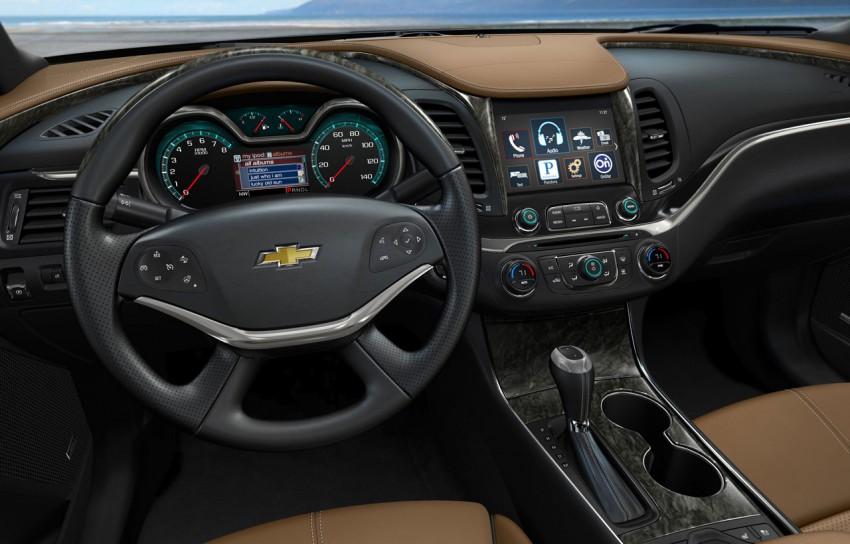 New Chevrolet Impala full-size sedan unveiled in New York Image #99826