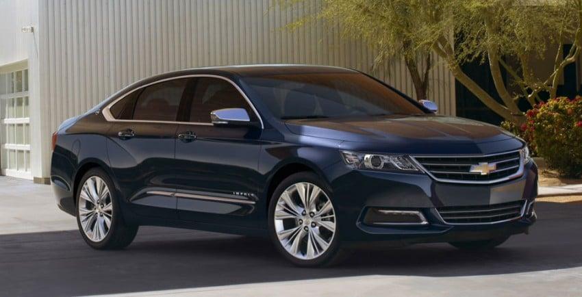 New Chevrolet Impala full-size sedan unveiled in New York Image #99827
