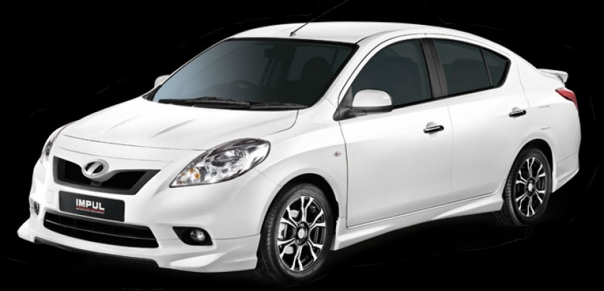 Nissan Almera Tuned by Impul open for booking, ETCM also announces a long list of optional kit Image #136157