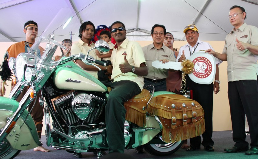 Naza World brings in Indian Motorcycles – not from India! Image #73064
