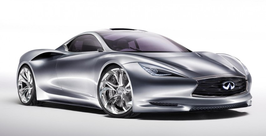 Infiniti EMERG-E Concept breaks cover in Geneva Image #91543