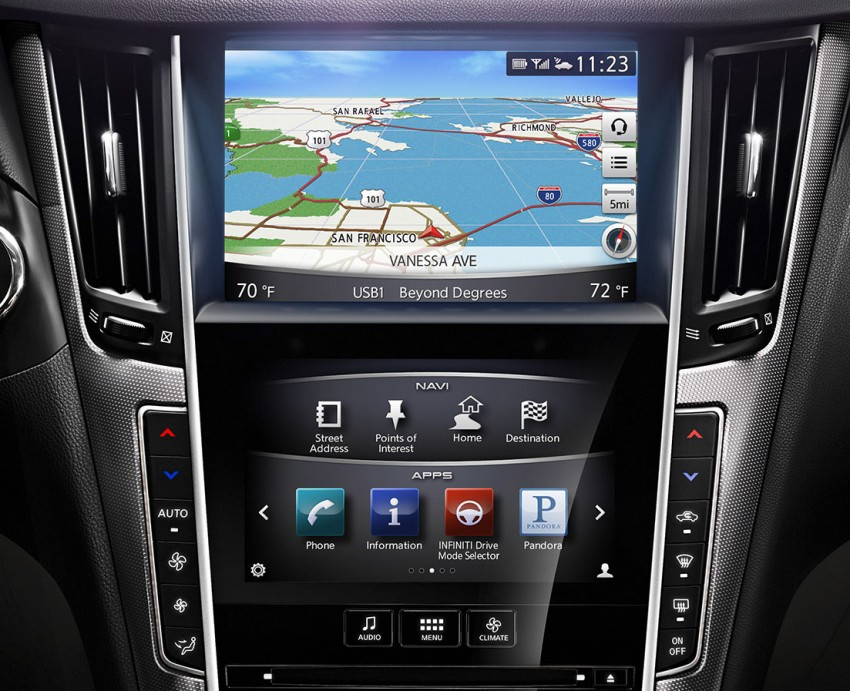 Infiniti Q50 and Q50 Hybrid unveiled at Detroit 2013 Image #150222