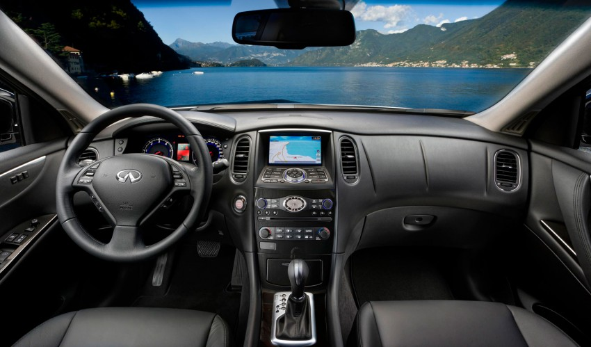 Infiniti EX25 introduced here – 2.5 V6, 218 hp, RM325k Image #113905