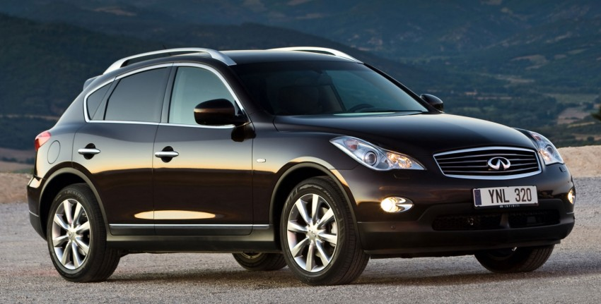 Infiniti EX25 introduced here – 2.5 V6, 218 hp, RM325k Image #113906