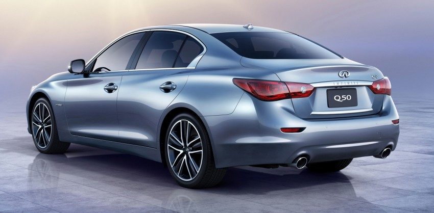Infiniti Q50 and Q50 Hybrid unveiled at Detroit 2013 Image #150146