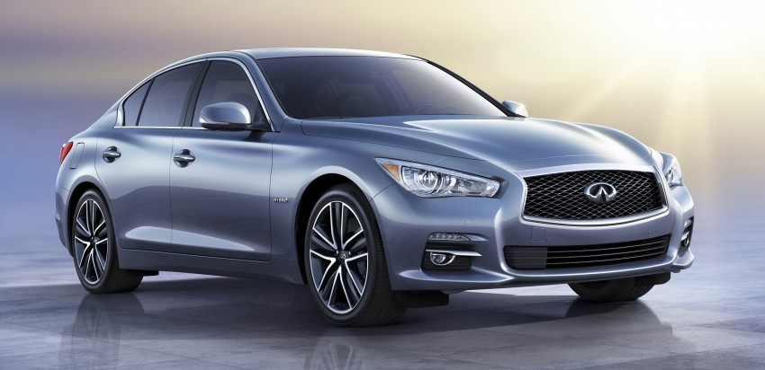 Infiniti Q50 and Q50 Hybrid unveiled at Detroit 2013 Image #150148