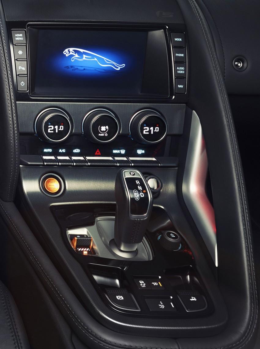 Jaguar F-Type debuts at Paris 2012: V6, V6 S and V8 S Image #133709