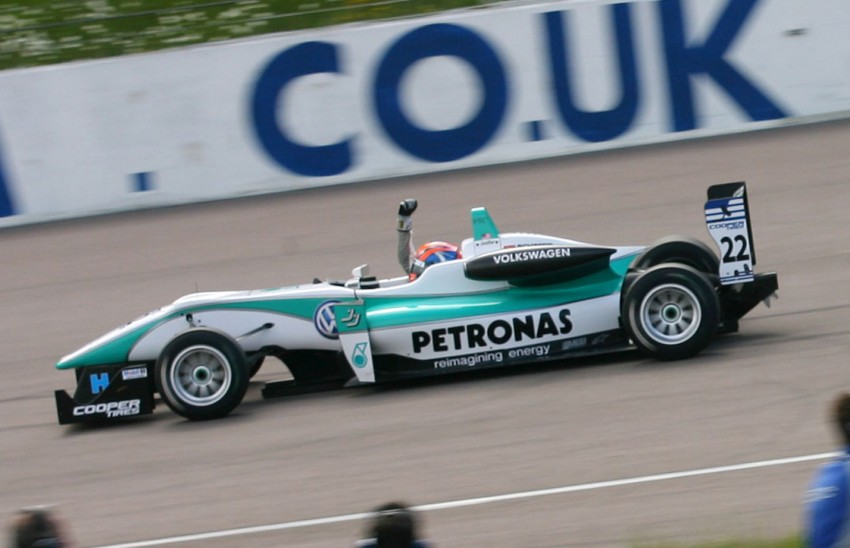 Jazeman Jaafar wins at Rockingham, leads the British F3 Drivers' Championship after four rounds Image #112346