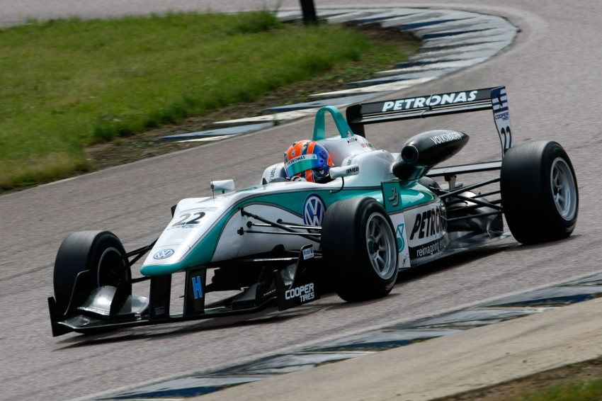 Jazeman Jaafar wins at Rockingham, leads the British F3 Drivers' Championship after four rounds Image #112347