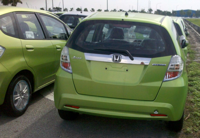 SPIED: Honda Jazz Hybrid spotted in Klang, coming soon! Image #89935