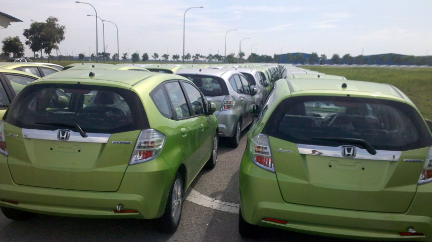 SPIED: Honda Jazz Hybrid spotted in Klang, coming soon! Image #89938