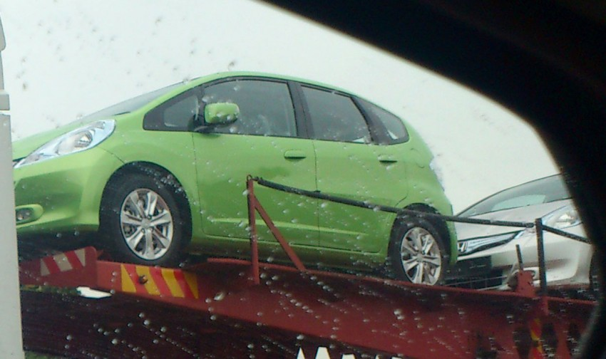 Honda Jazz Hybrid spotted in Taiping, launch on March 15 Image #92678