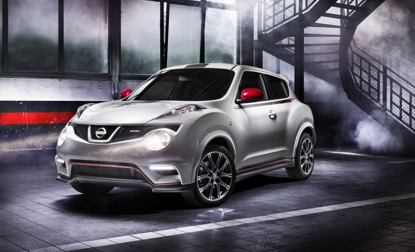 Production Nissan Juke Nismo revealed at Le Mans Image #112621