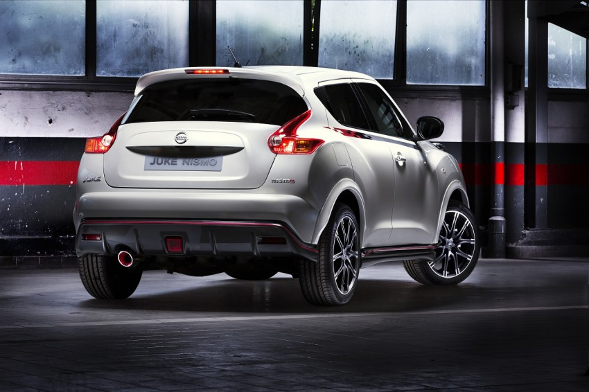 Production Nissan Juke Nismo revealed at Le Mans Image #112622